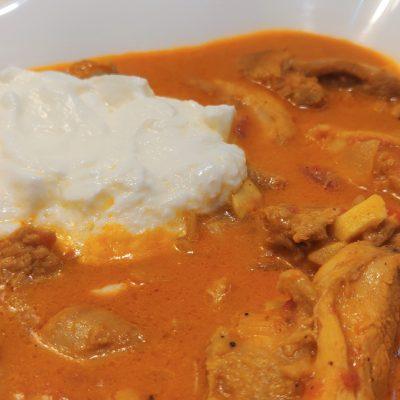 pui cu curry fara gluten