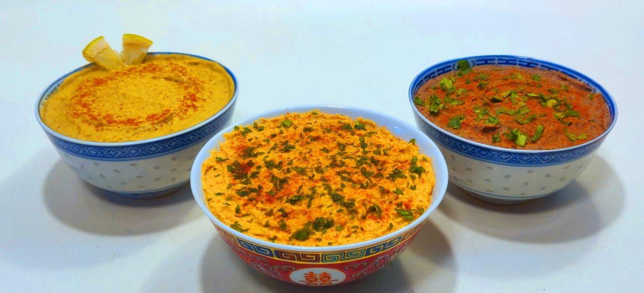 3 tipuri de hummus