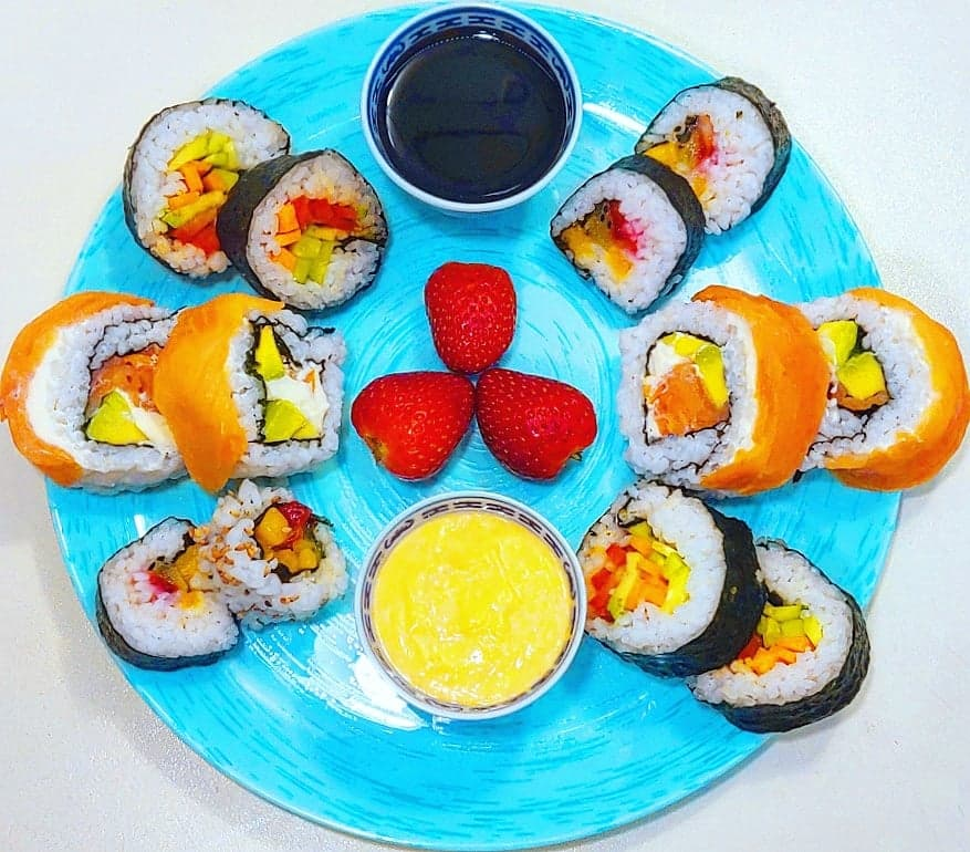 3 tipuri de sushi